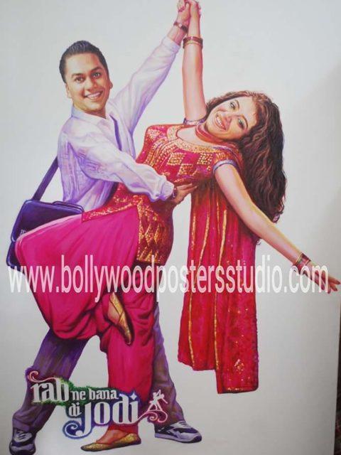 Bollywood themed wedding ideas cutout posters