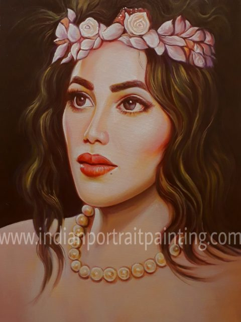Best portrait painter Mumbai India