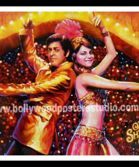 Custom made Bollywood movie poster