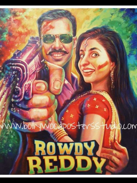 Handmade Bollywood movie posters