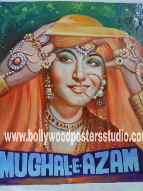 Old Hindi movie film posters