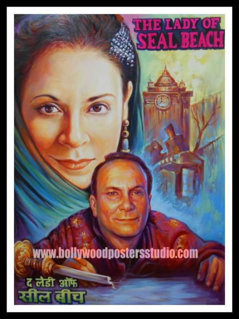 Old hindi film movie custom poster painters and artist