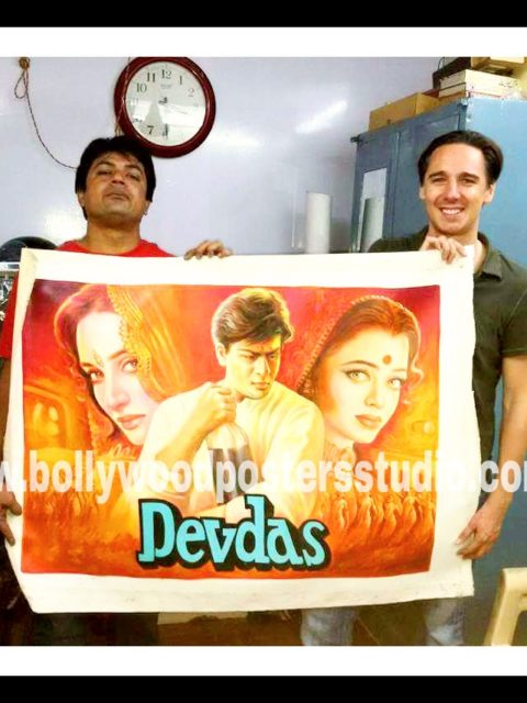 Vintage Bollywood film posters for sale