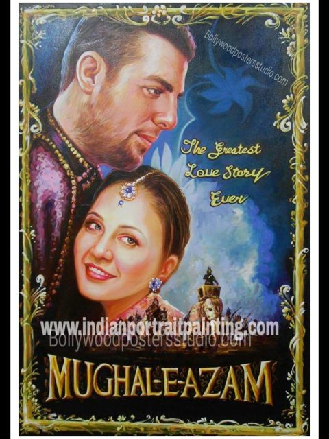 Customized Bollywood posters