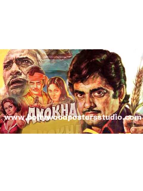 Anokha hand painted posters