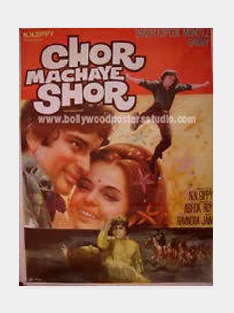 Chor machaye shor hand painted posters