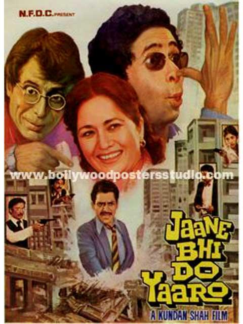 Hand painted posters Jaane bhi do yaaro