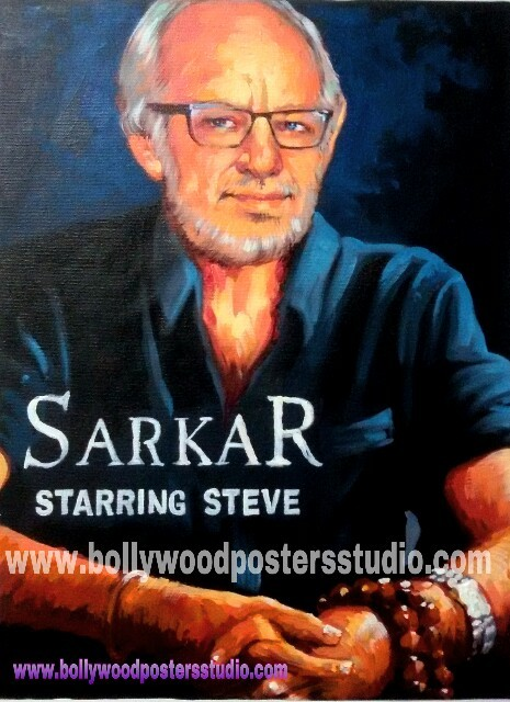 Original hand painted custom bollywood posters