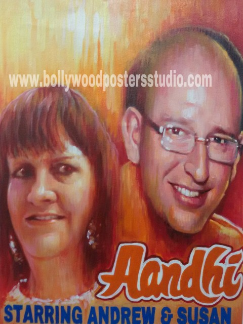 Bollywood movie posters painters online mumbai