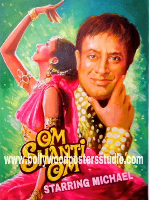 Customized bollywood style posters