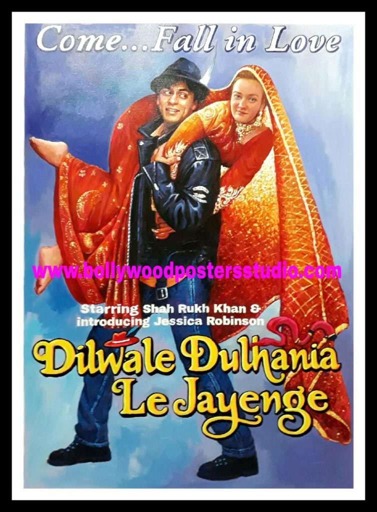 Bollywood poster making