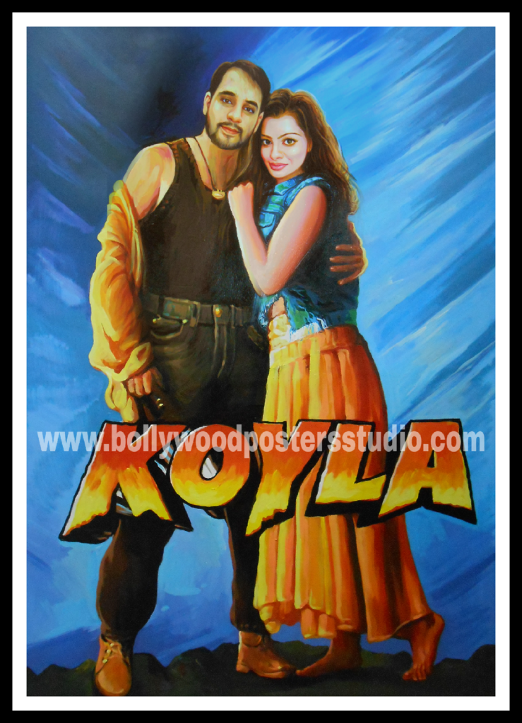 Creative ideas for bollywood hand painted posters