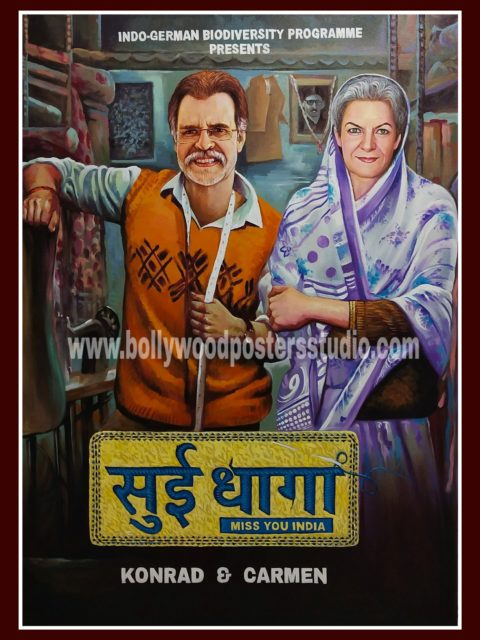 Bollywood poster painting