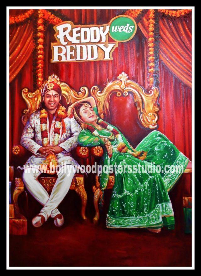 Bespoke Bollywood style wedding cards