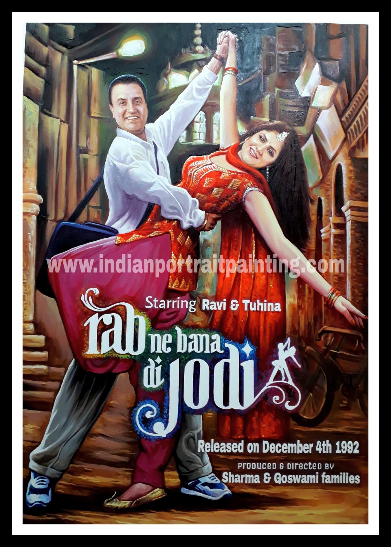 Bespoke Bollywood film poster