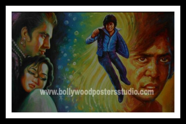 Best hand painting Bollywood movie poster artists in Mumbai