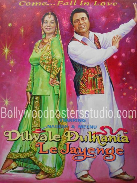 Custom Bollywood posters India