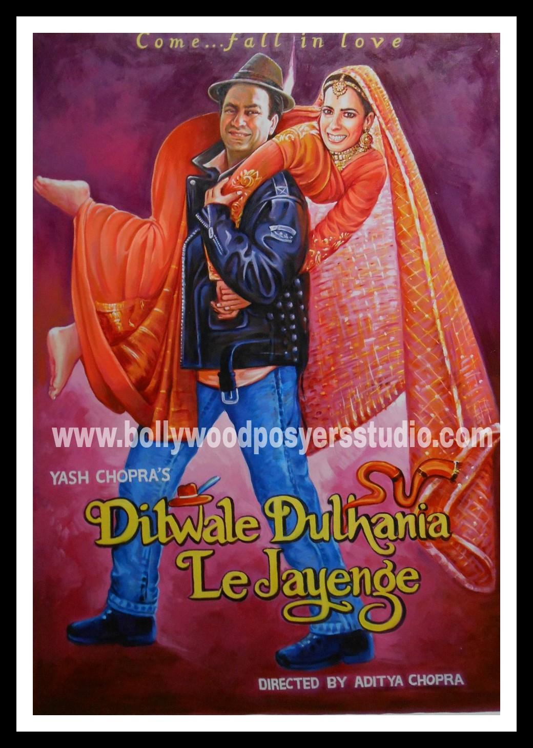Custom Bollywood film poster