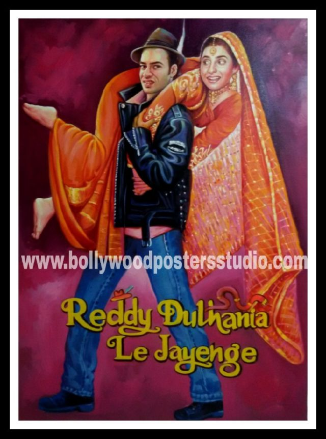Customized Bollywood wedding posters