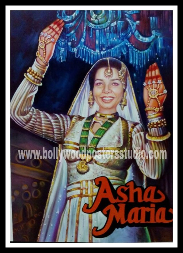 Custom Indian Bollywood posters