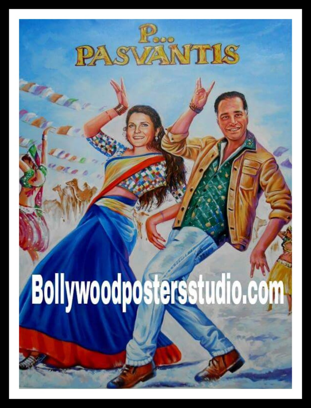 Make over with custom Bollywood poster