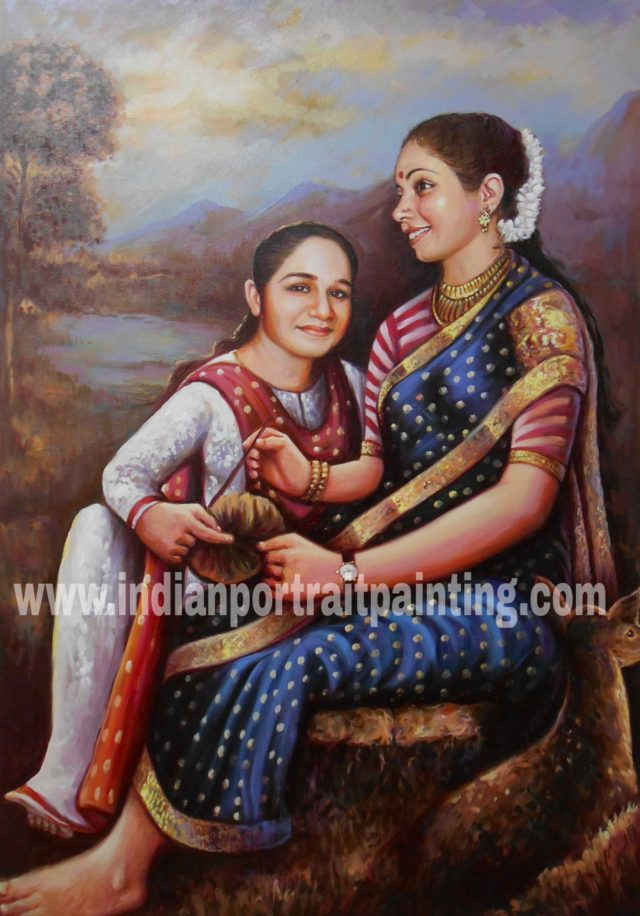Indian portrait painters