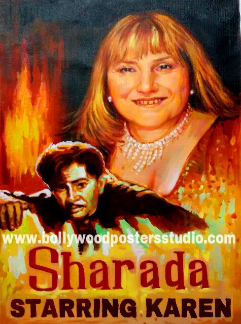 Best painters and artists in mumbai \ India for custom bollywood posters