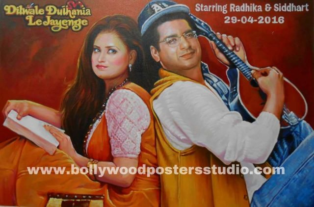 Personal Bollywood marriage poster