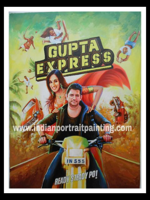 Bollywood style custom shaadi's poster