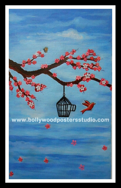 Canvas paintings for sale - birds