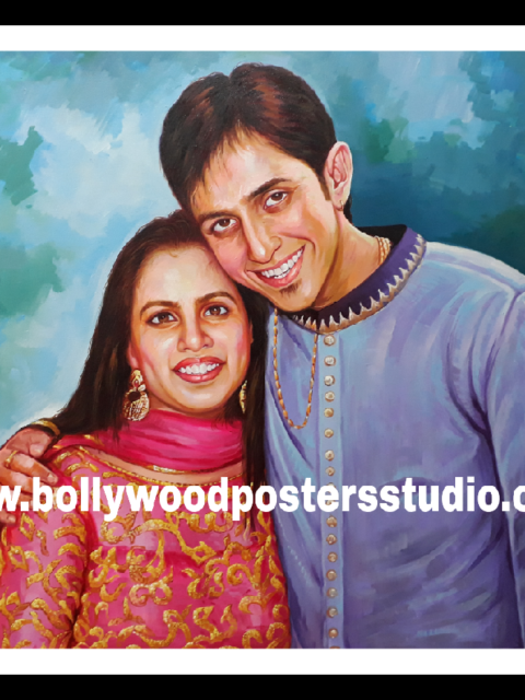 Famous Indian portrait artists