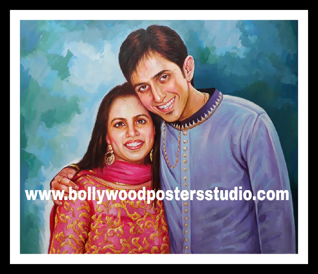 Famous Indian portrait artists