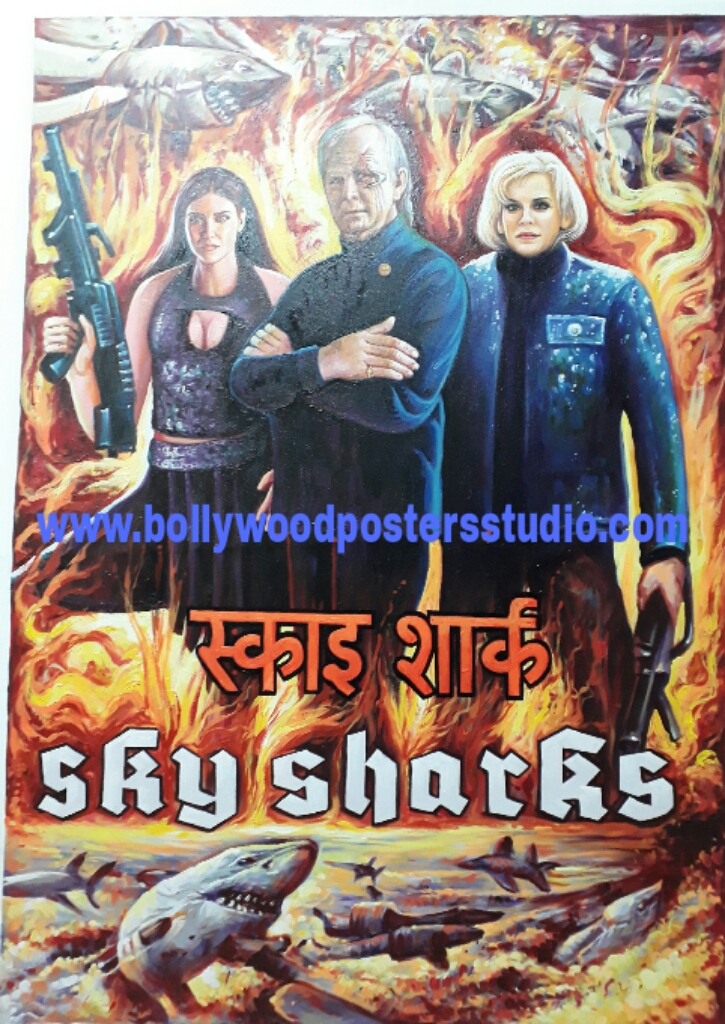 Convert movie posters to hand painting online