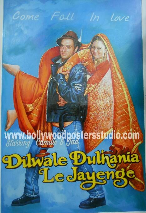 Custom bollywood poster making