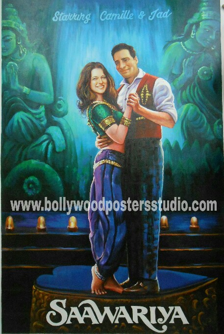 Make your own bollywood poster online