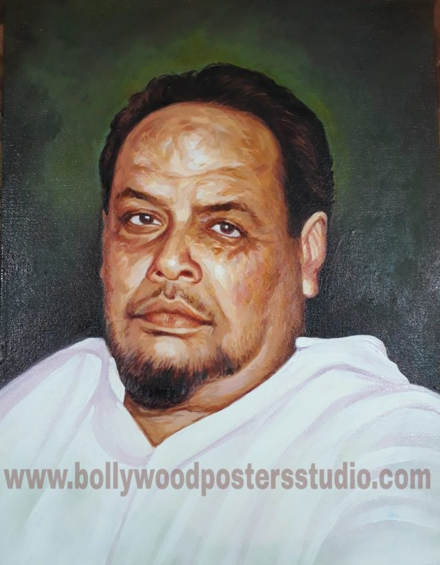 Custom portrait painting from photo