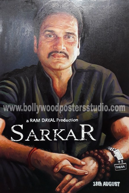 Custom hand made bollywood poster gifts for parents birthday