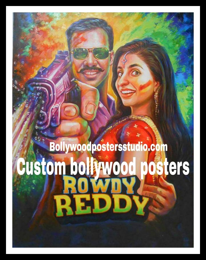 Custom Bollywood posters
