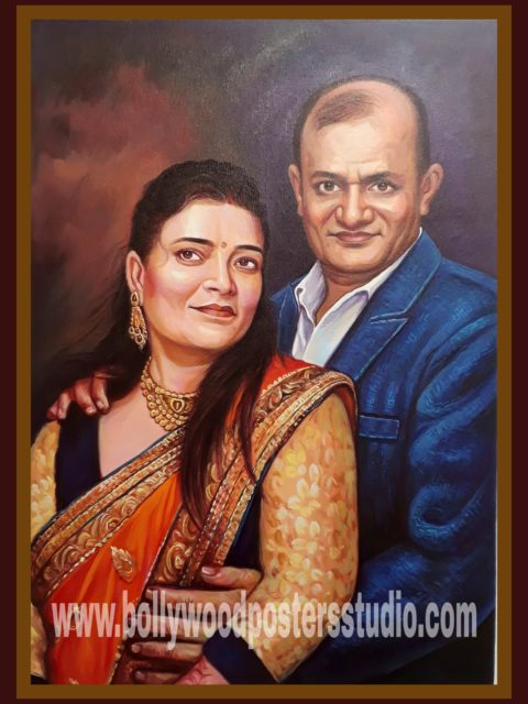 Portrait for wedding anniversary gift
