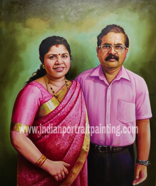 Artist to make portrait painting as per requirement