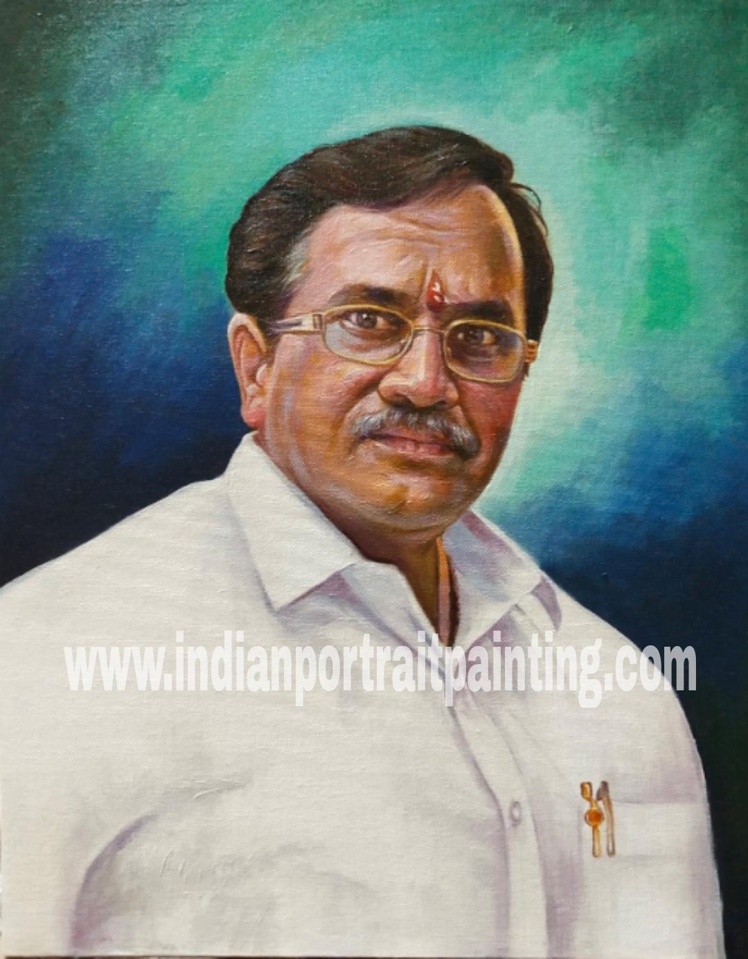 Customizable portrait painting creator