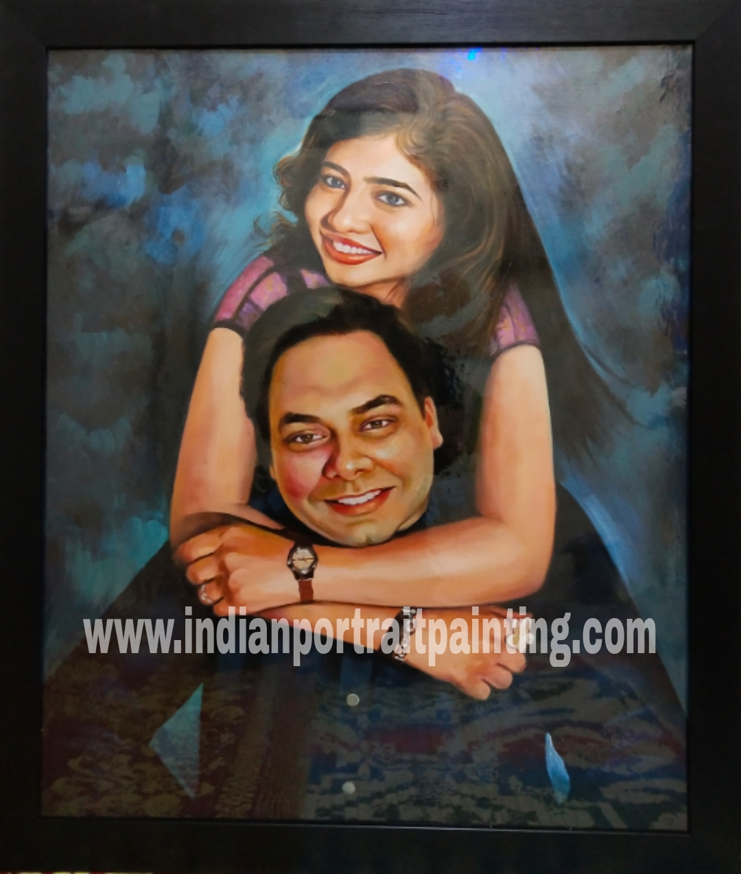 Personalized oil portrait painting gifts