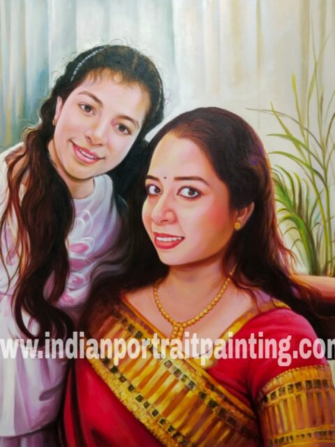 Personalized portrait painting artist